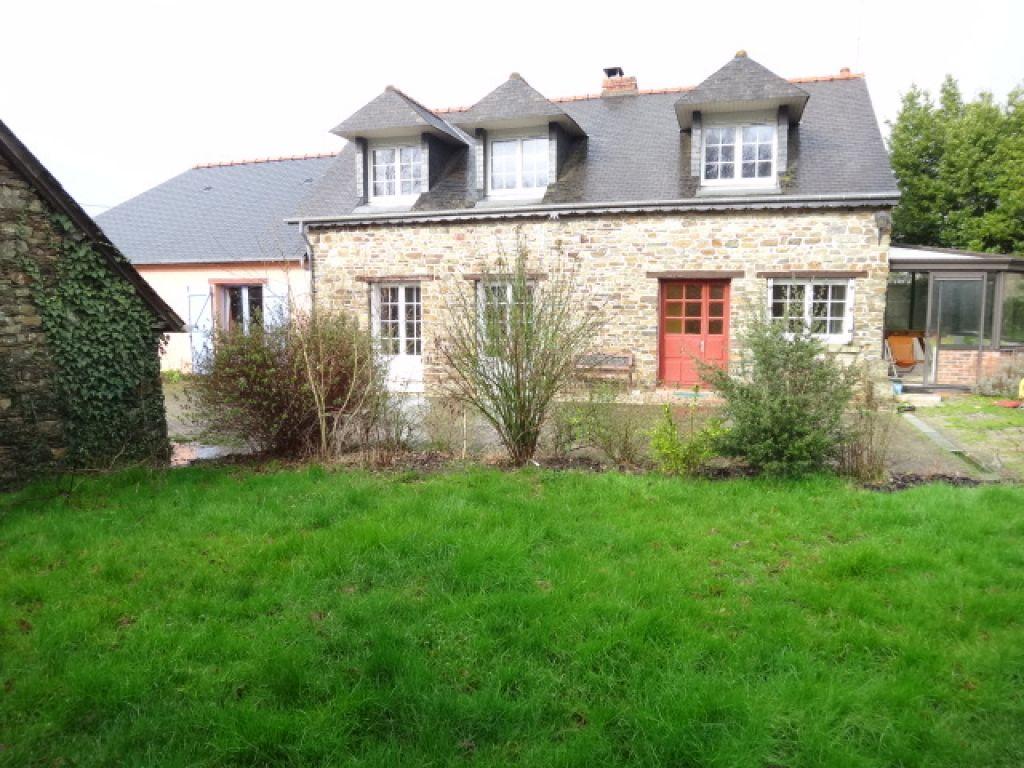 Maison en pierre avec eco-extension jardin de 1500 m2